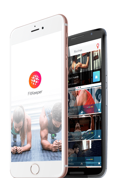 FitKeeper images, the fitness App for workout tracking